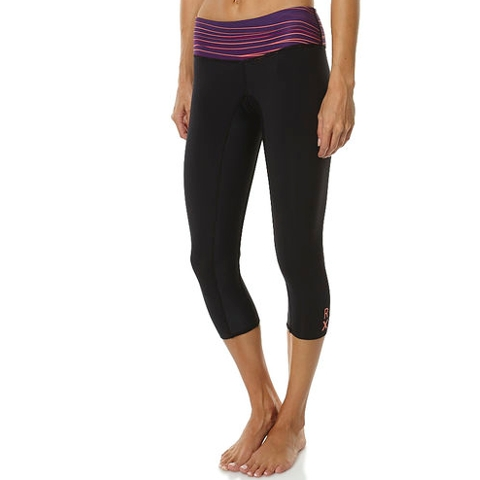 Inside Break Capri Neoprene Pants