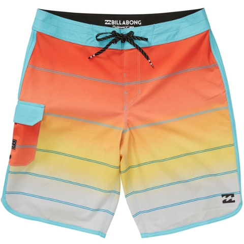 BOYS' 73 X STRIPE BOARDSHORTS