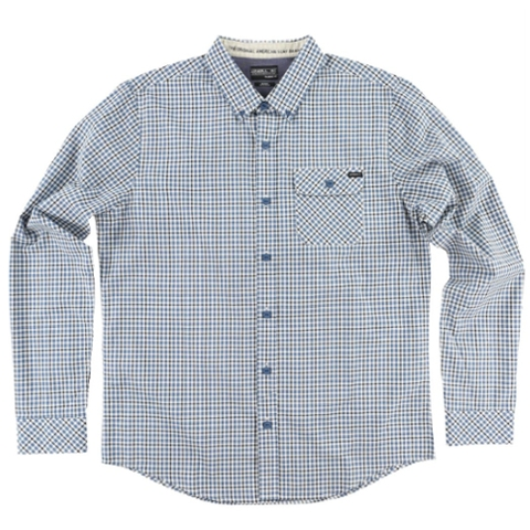 Emporium Mix Long Sleeve Plaid Shirt