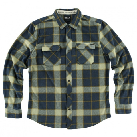 SUPERFLEECE GLACIER BIG PLAID FLANNEL