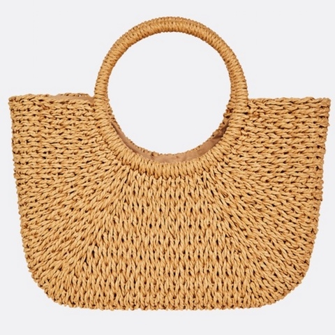 Dream Weaver Straw Bag