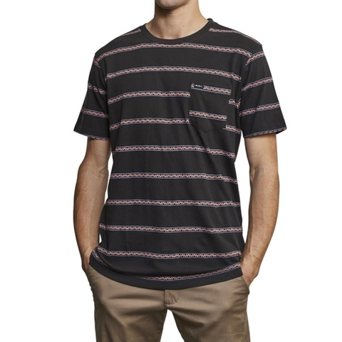 Retro VA Striped Pocket T-Shirt
