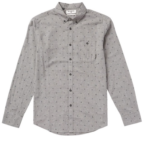 All Day Jacquard Long Sleeve Shirt