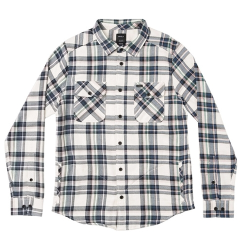 CAMINO FLANNEL LONG SLEEVE SHIRT