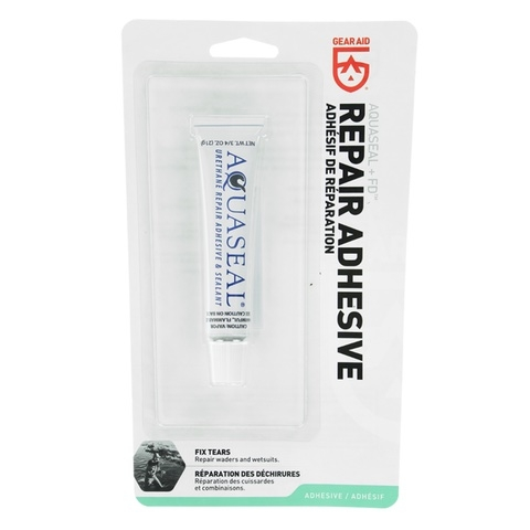 AQUASEAL+FD REPAIR ADHESIVE CLEAR .75oz