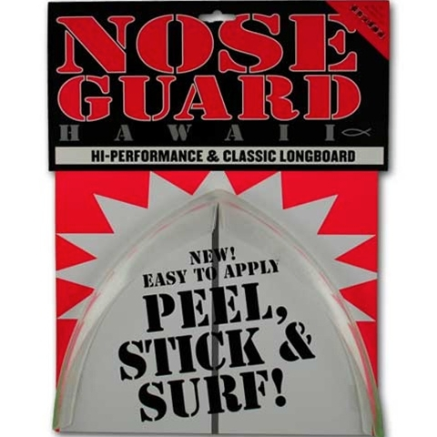 Surfco Longboard Nose Guard Kit Clear