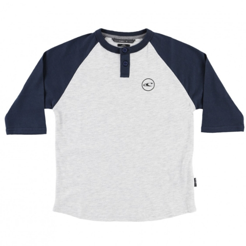 KIDS THE BAY HENLEY TEE