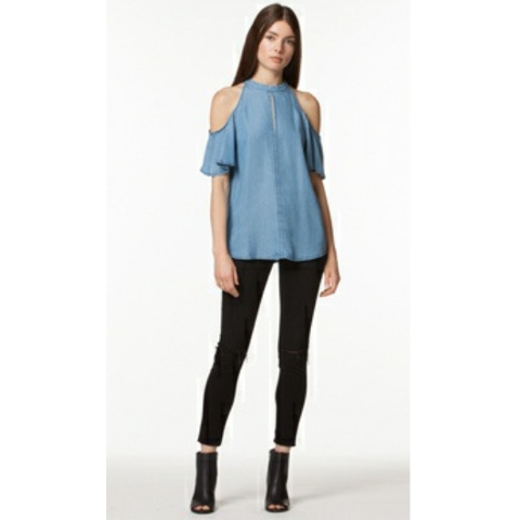 Moira Cold Shoulder Top
