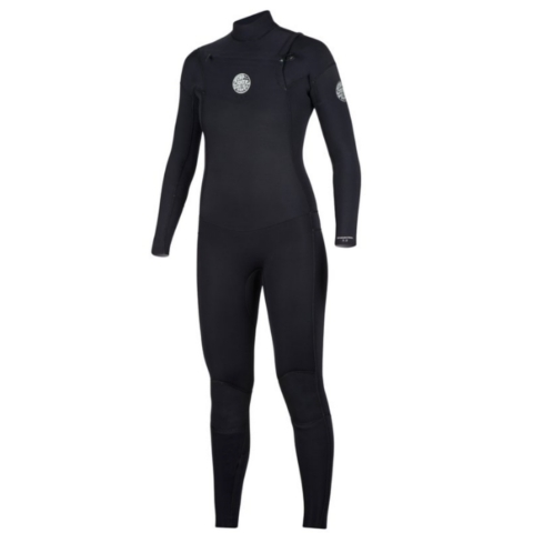 WOMEN'S DAWN PATROL 4/3 CHEST ZIP WETSUIT