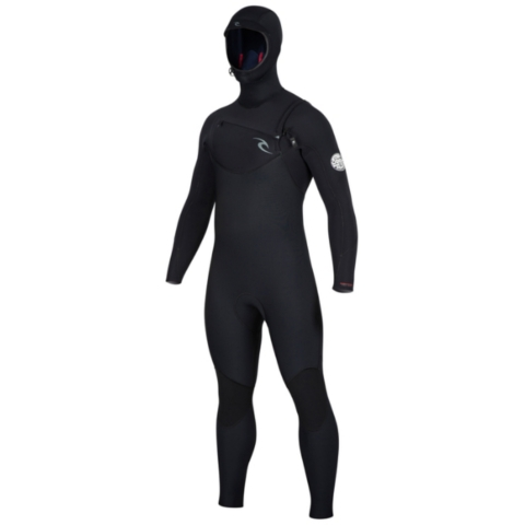 DAWN PATROL 5/4 HOODED CHEST ZIP WETSUIT