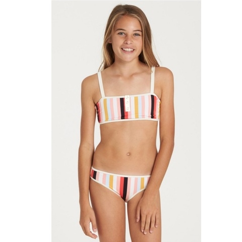 GIRLS' COME ON BY CROSSBACK SWIM SET