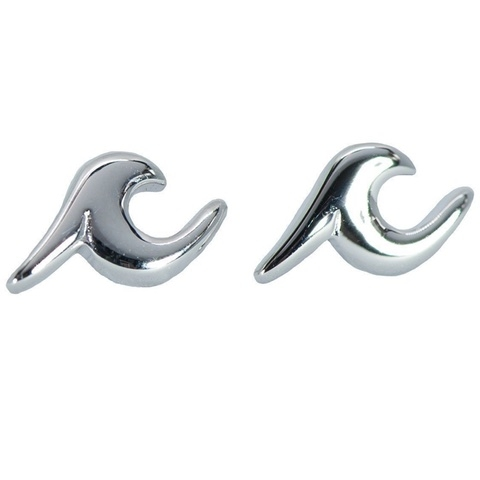 Pura Vida Wave Stud Earrings