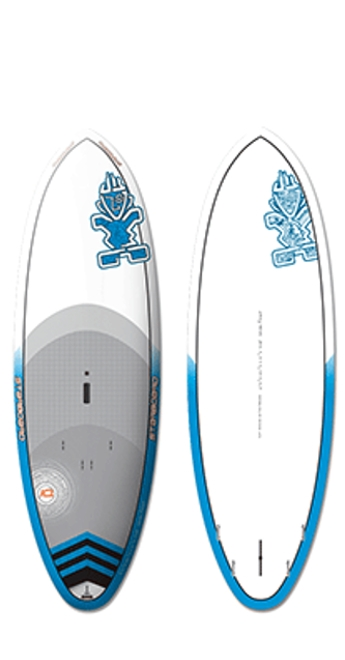2014 Starboard 8'2 Wide Point Electric Blue