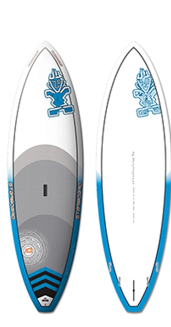 2014 Starboard 8'5 Pro Electric Blue