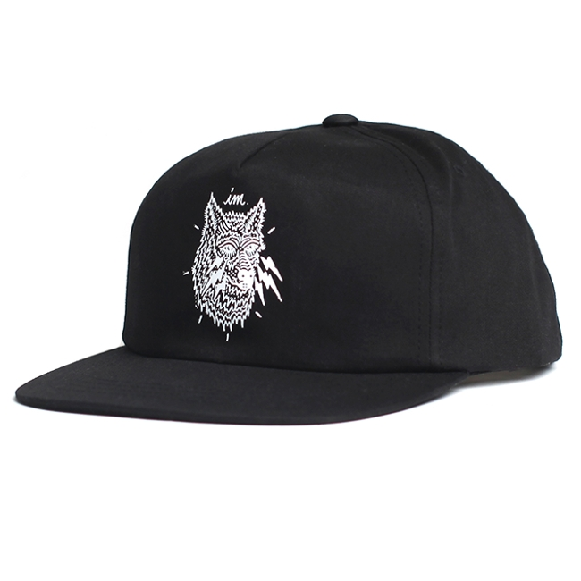 Wolf Snap Back Hat