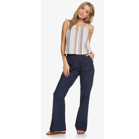 Oceanside High Waisted Flared Beach Pants