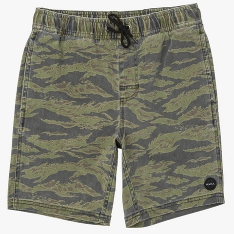 Boys Escape Elastic Print Short