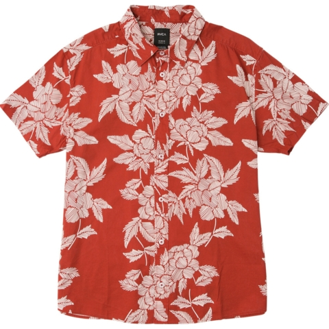 Boys Bora Floral Button Up Shirt