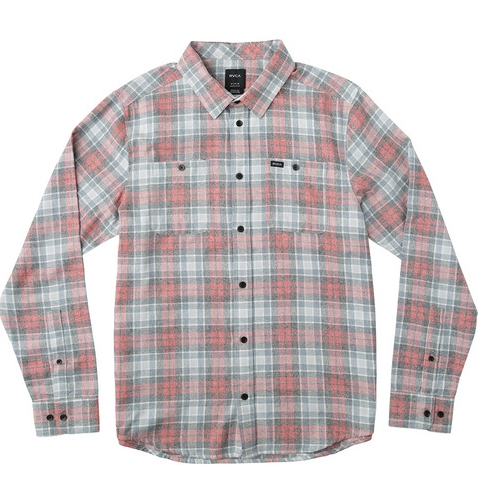 BOY'S DIFFUSION LONG SLEEVE FLANNEL SHIRT