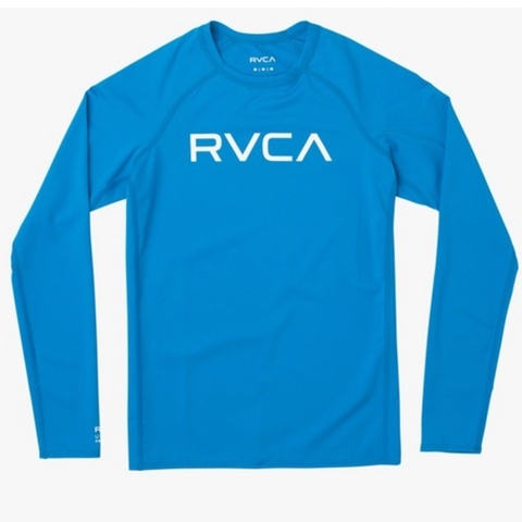 Boys RVCA Long Sleeve Rashguard
