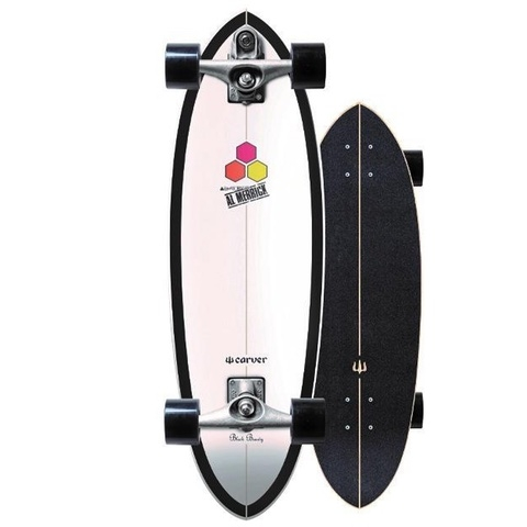 Black Beauty Surfskate Complete