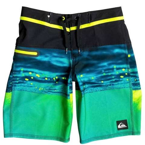 Boy's 8-16 Hold Down Vee 18 Boardshorts