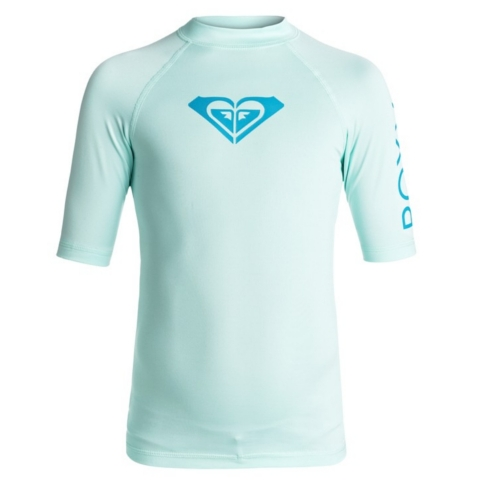GIRLS Whole Hearted Short Sleeve Rashguard