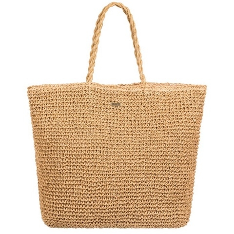 Positive Energy 24L Large Straw Tote Bag