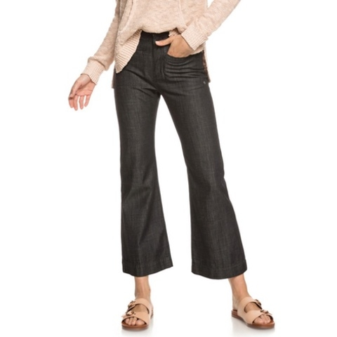 Black Shade High Waist Wide Leg Jeans