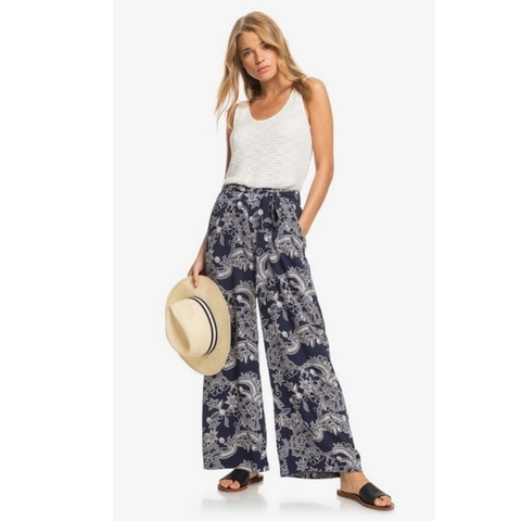 South Of World Wide Leg Beach Pants