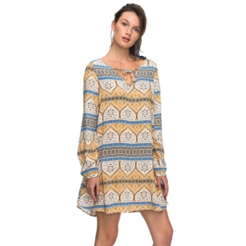 View Delights Long Sleeve Dress