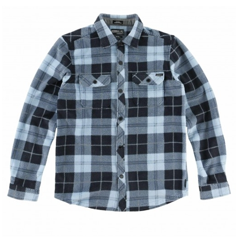 BOYS GLACIER PLAID SHIRT