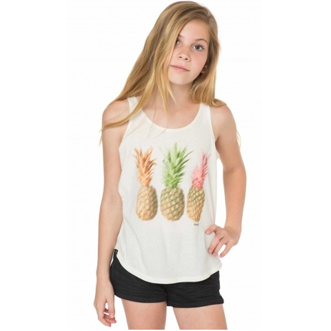 GIRLS TRIPPY PINEAPPLE TANK