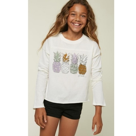 Girls Sketchy Long Sleeve Tee