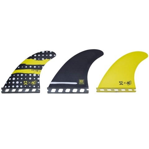 Mitch Coleborn Vert Core Flex Single Tab Surf Fins
