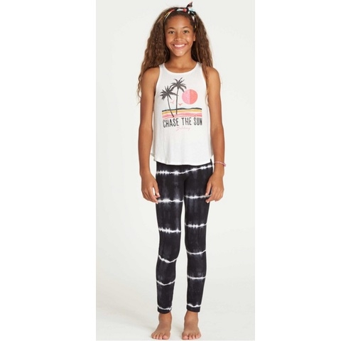 Girls Leg Up Tie-Dye Leggings