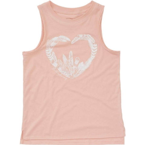 Feather Heart Muscle Tee