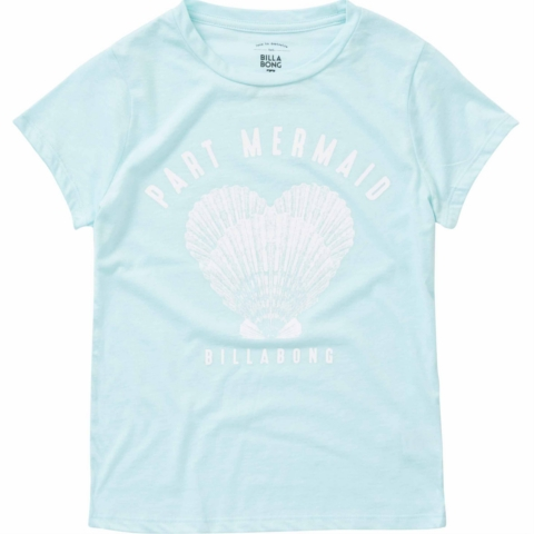 GIRLS PART MERMAID TEE