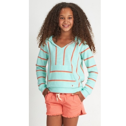 Sandy Stripes Girls Hoodie