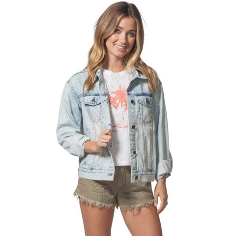 Sun Bleached Denim Jacket