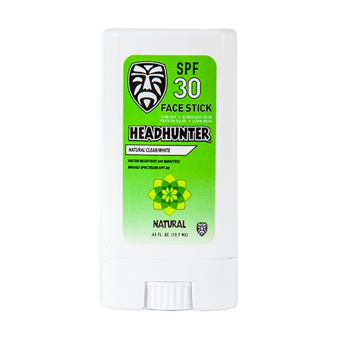 Headhunter SPF 30 SUNSCREEN NATURAL FACE STICK