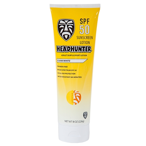 Headhunter SPF 50 SUNSCREEN SURF & SPORT LOTION