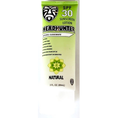 Headhunter Sunscreen Natural SPF30