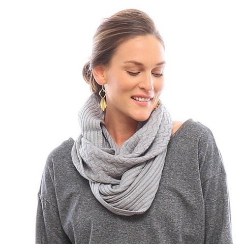 Laurel Infinity Sweater Scarf