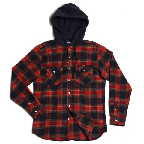 Greenwich Hooded Flannel
