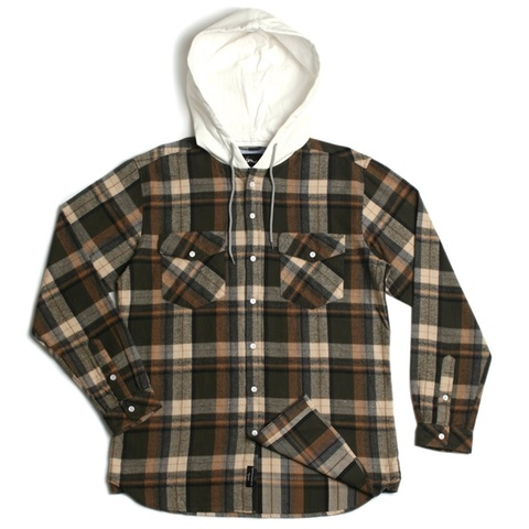 Parker Hooded Flannel