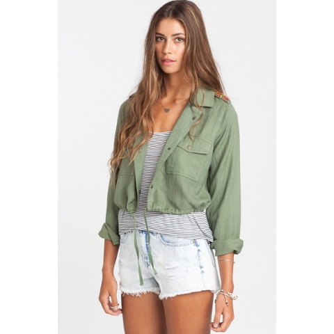 Moonlit Night Cropped Jacket