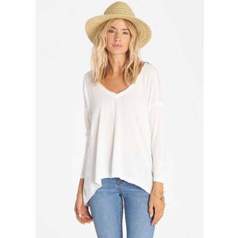 EVERY WHISPER LONG SLEEVE TOP