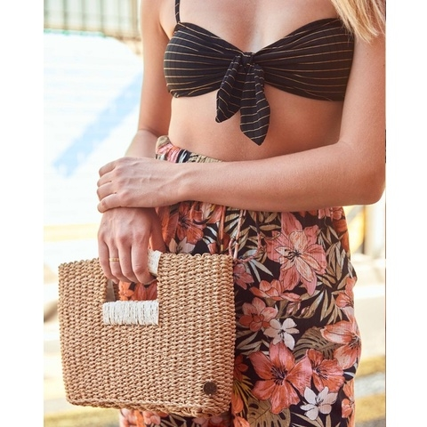 Coastal Dayz Straw Purse