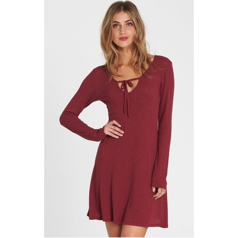 Walk On Long Sleeve Sweater Dress